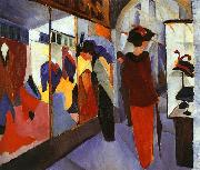 August Macke Fashion Shop oil painting picture wholesale