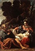 BADALOCCHIO, Sisto The Holy Family  145 oil painting