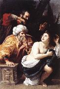 BADALOCCHIO, Sisto Susanna and the Elders  ggg oil painting