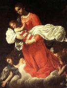 BAGLIONE, Giovanni The Virgin and the Child with Angels oil painting picture wholesale