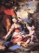 BAROCCI, Federico Fiori Rest on the Flight to Egypt sw oil