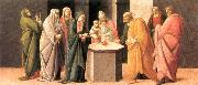 BARTOLOMEO DI GIOVANNI Predella: Presentation at the Temple  dd oil painting picture wholesale