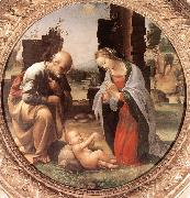 BARTOLOMEO, Fra The Adoration of the Christ Child nn oil painting