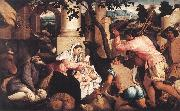 BASSANO, Jacopo Adoration of the Shepherds ss oil painting picture wholesale