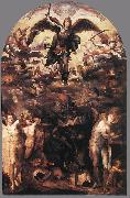 BECCAFUMI, Domenico Fall of the Rebellious Angels gjh oil painting picture wholesale