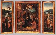 BEER, Jan de Triptych  hu255 oil