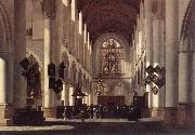 BERCKHEYDE, Job Adriaensz Interior of the St Bavo in Haarlem oil painting artist