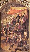 BERRUGUETE, Pedro Burning of the Heretics (Auto-da-fe) oil painting picture wholesale
