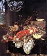 BEYEREN, Abraham van Large Still-life with Lobster oil painting picture wholesale