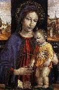 BORGOGNONE, Ambrogio Virgin and Child fdg oil