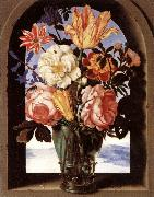 BOSSCHAERT, Ambrosius the Elder Bouquet of Flowers oil