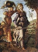 BOTTICELLI, Sandro The Return of Judith to Bethulia  hgg oil painting picture wholesale