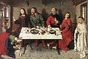 BOUTS, Dieric the Elder Christ in the House of Simon f oil painting artist