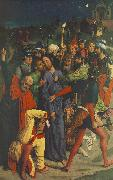 BOUTS, Dieric the Elder The Capture of Christ  gh oil painting artist