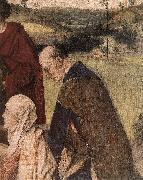 BOUTS, Dieric the Elder The Entombment (detail) fg oil painting artist