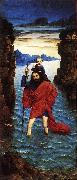 BOUTS, Dieric the Younger Saint Christopher dfg oil