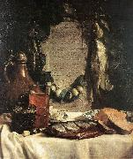 BRAY, Joseph de Still-life in Praise of the Pickled Herring df oil painting picture wholesale