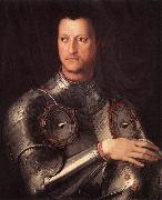 BRONZINO, Agnolo Cosimo I de  Medici in Armour oil painting picture wholesale