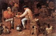 BROUWER, Adriaen The Card Players fd oil painting picture wholesale