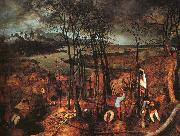 BRUEGEL, Pieter the Elder Gloomy Day gfh oil painting picture wholesale