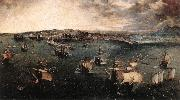 BRUEGEL, Pieter the Elder Naval Battle in the Gulf of Naples fd oil painting picture wholesale