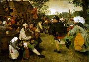 BRUEGEL, Pieter the Elder The Peasant Dance fdg oil painting picture wholesale