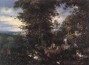 BRUEGHEL, Jan the Elder Adam and Eve in the Garden of Eden oil painting picture wholesale