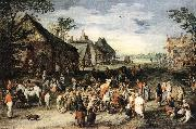 BRUEGHEL, Jan the Elder St Martin df oil painting picture wholesale