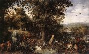 BRUEGHEL, Jan the Elder Garden of Eden fdgd oil painting picture wholesale