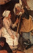 BRUEGHEL, Pieter the Younger Proverbs (detail) fgjh oil painting picture wholesale