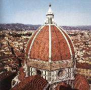 BRUNELLESCHI, Filippo Dome of the Cathedral  dfg oil painting artist