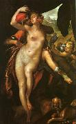 Bartholomeus Spranger Venus and Adonis oil