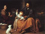 Bartolome Esteban Murillo The Holy Family  dfffg oil painting picture wholesale