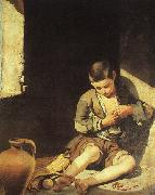 Bartolome Esteban Murillo The Young Beggar Spain oil painting reproduction