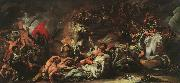 Benjamin West Death on a Pale Horse oil painting picture wholesale