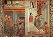 Benozzo Gozzoli The Birth of St.Francis and Homage of the Simple Man oil painting picture wholesale