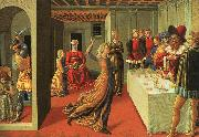 Benozzo Gozzoli The Dance of Salome oil