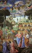 Benozzo Gozzoli Angels Worshipping oil painting picture wholesale