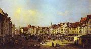Bernardo Bellotto The Old Market Square in Dresden 4 oil painting picture wholesale