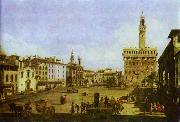 Bernardo Bellotto Signoria Square in Florence. oil painting picture wholesale