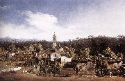Bernardo Bellotto View of Gazzada near Varese oil painting picture wholesale