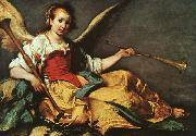 Bernardo Strozzi An Allegory of Fame oil