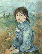 Berthe Morisot The Little Girl from Nice oil painting picture wholesale