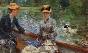 Berthe Morisot A Summer's Day oil