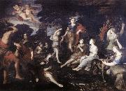 CAMASSEI, Andrea The Hunt of Diana oil painting artist