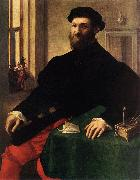 CAMPI, Giulio Portrait of a Man  iey oil painting artist