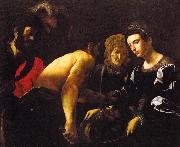 CARACCIOLO, Giovanni Battista Salome g oil painting artist