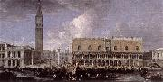 CARLEVARIS, Luca View of the Wharf from the Bacino di San Marco g oil painting picture wholesale