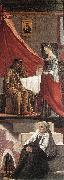 CARPACCIO, Vittore Arrival of the English Ambassadors (detail) dfg oil painting artist