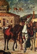 CARPACCIO, Vittore Triumph of St George (detail) dsf oil